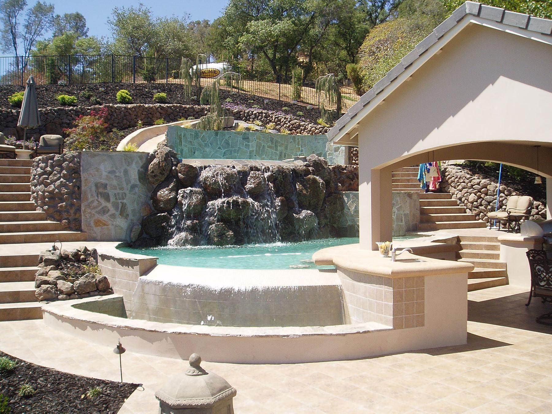 Custom Pools & Spas - Backyard Dream