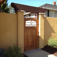 Outdoor Walls and Fences